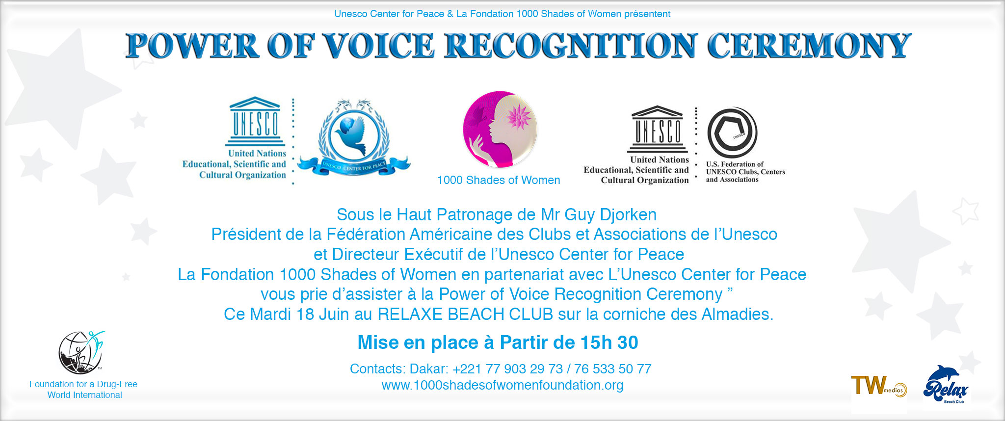 POWER OF VOICE RECOGNITION CEREMONY